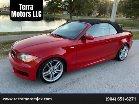 2009 BMW 1 Series for sale at Terra Motors LLC in Jacksonville FL