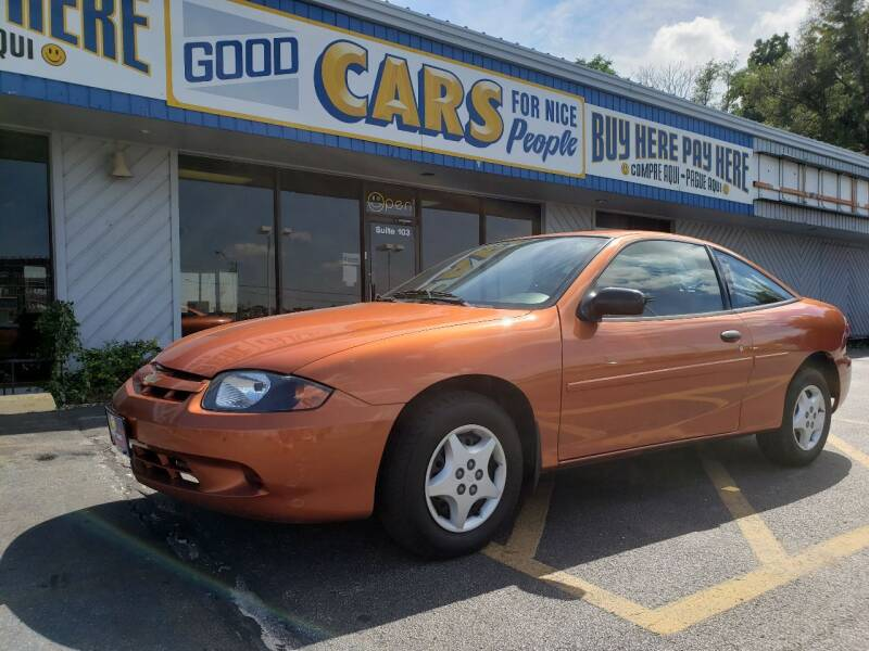 2004 Chevrolet Cavalier for sale at Good Cars 4 Nice People in Omaha NE