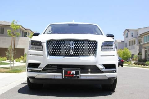 2020 Lincoln Navigator for sale at Fastrack Auto Inc in Rosemead CA