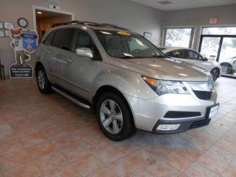 2011 Acura MDX for sale at ABSOLUTE AUTO CENTER in Berlin CT