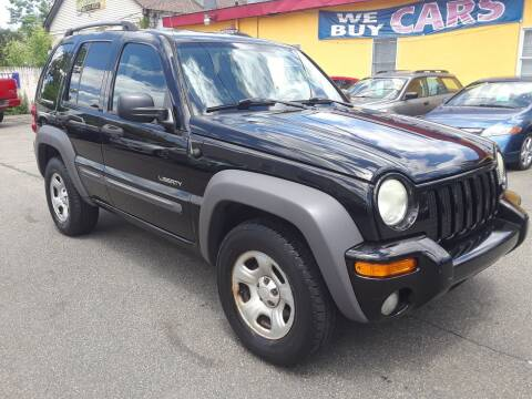 2004 Jeep Liberty for sale at GREAT MEADOWS AUTO SALES in Great Meadows NJ