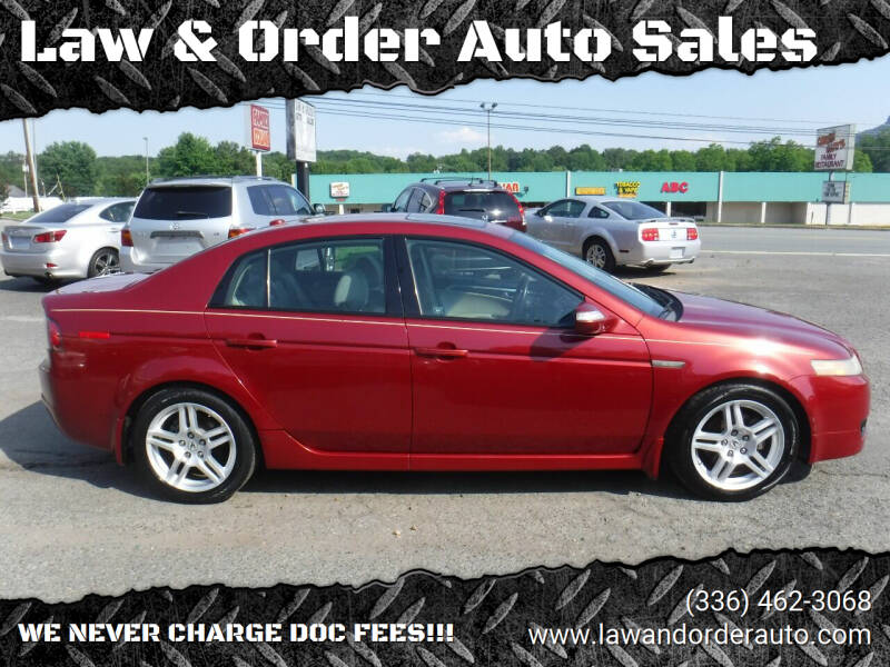 2008 Acura TL for sale at Law & Order Auto Sales in Pilot Mountain NC
