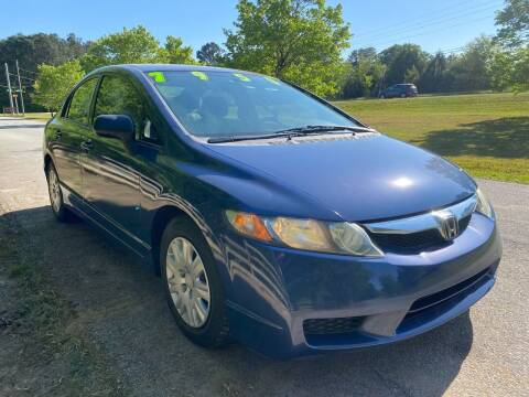 2009 Honda Civic for sale at Front Porch Motors Inc. in Conyers GA