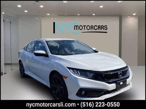 2019 Honda Civic for sale at NYC Motorcars in Freeport NY