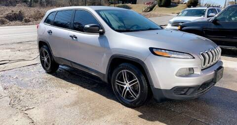 2014 Jeep Cherokee for sale at North Knox Auto LLC in Knoxville TN