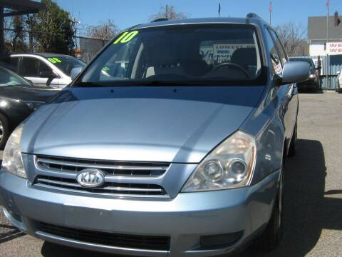 2010 Kia Sedona for sale at JERRY'S AUTO SALES in Staten Island NY