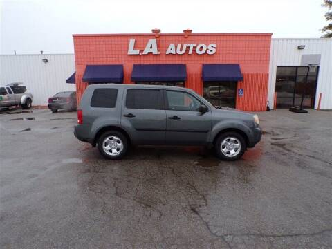 2011 Honda Pilot for sale at L A AUTOS in Omaha NE