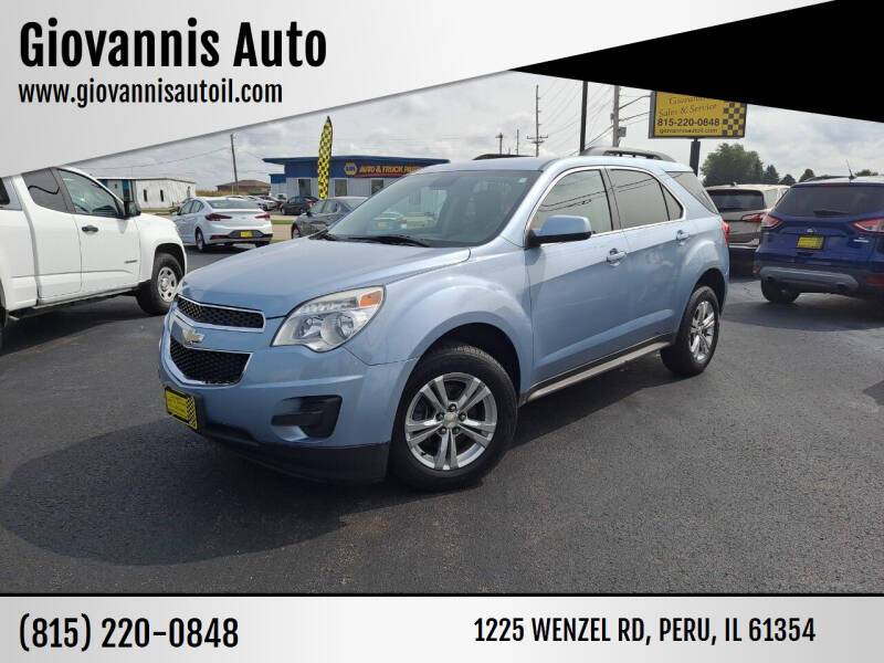 2014 Chevrolet Equinox for sale at Giovannis Auto in Peru IL