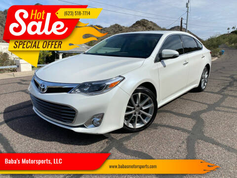 2014 Toyota Avalon for sale at Baba's Motorsports, LLC in Phoenix AZ