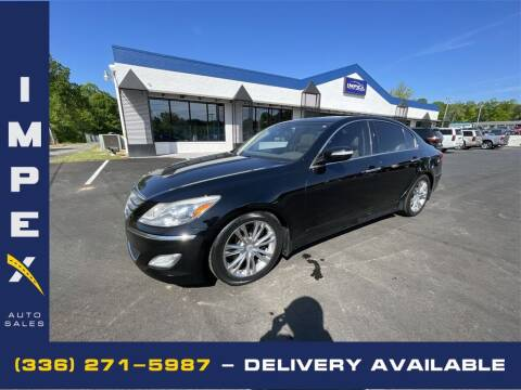 2013 Hyundai Genesis for sale at Impex Auto Sales in Greensboro NC