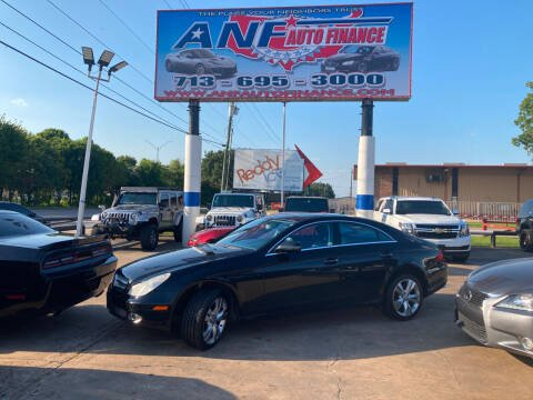 2010 Mercedes-Benz CLS for sale at ANF AUTO FINANCE in Houston TX