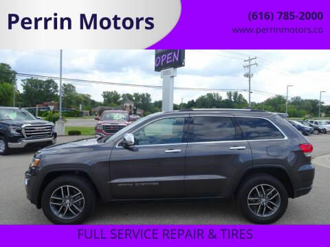 2018 Jeep Grand Cherokee for sale at Perrin Motors in Comstock Park MI