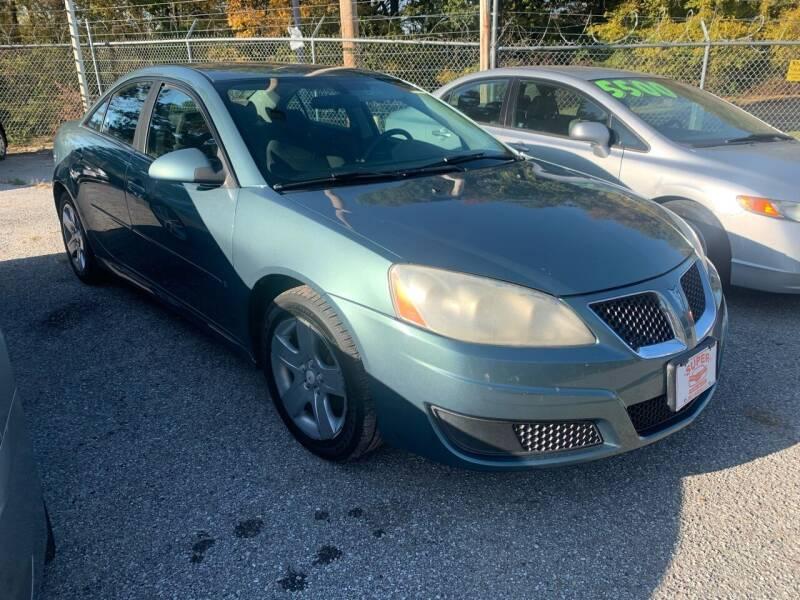 2009 Pontiac G6 for sale at Super Wheels-N-Deals in Memphis TN