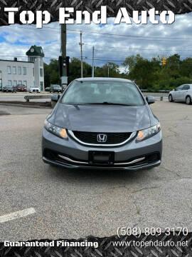 2013 Honda Civic for sale at Top End Auto in North Attleboro MA