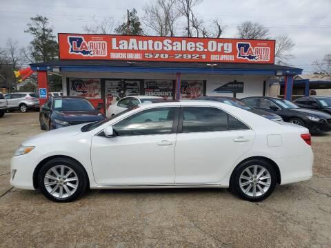 2012 Toyota Camry for sale at LA Auto Sales in Monroe LA