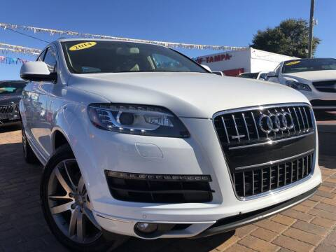 2014 Audi Q7 for sale at Cars of Tampa in Tampa FL