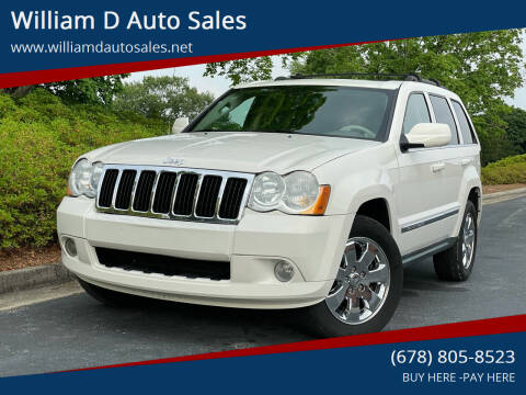 2009 Jeep Grand Cherokee for sale at William D Auto Sales in Norcross GA