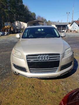 2007 Audi Q7 for sale at Richards's Auto Sales & Salvage in Denton NC