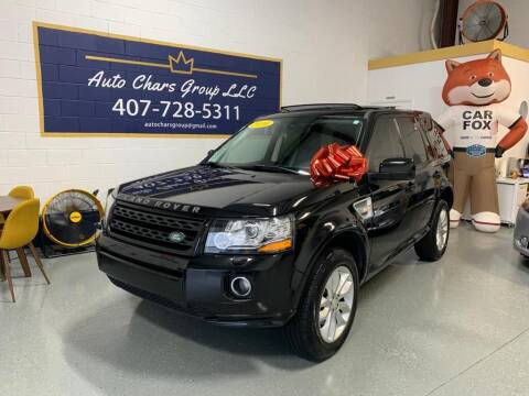 2014 Land Rover LR2 for sale at Auto Chars Group LLC in Orlando FL