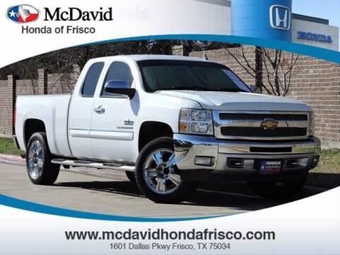 2012 Chevrolet Silverado 1500 for sale at DAVID McDAVID HONDA OF IRVING in Irving TX