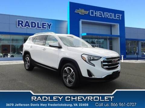 2020 GMC Terrain for sale at Radley Cadillac in Fredericksburg VA