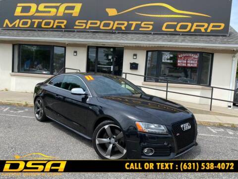 2011 Audi S5 for sale at DSA Motor Sports Corp in Commack NY