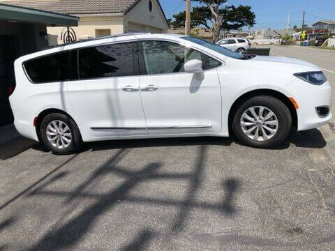 2018 Chrysler Pacifica for sale at HIGH-LINE MOTOR SPORTS in Brea CA