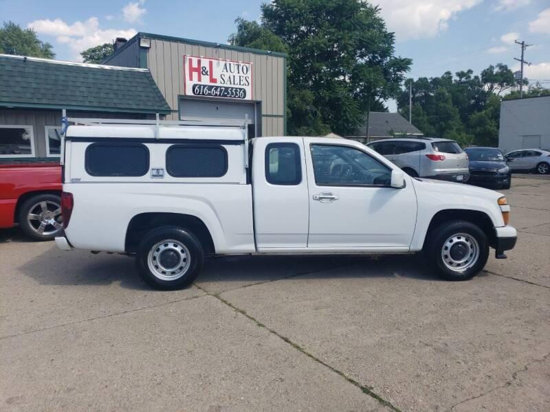 2012 Chevrolet Colorado for sale at H & L AUTO SALES LLC in Wyoming MI