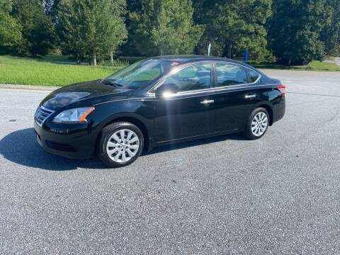 2013 Nissan Sentra for sale at GTO United Auto Sales LLC in Lawrenceville GA