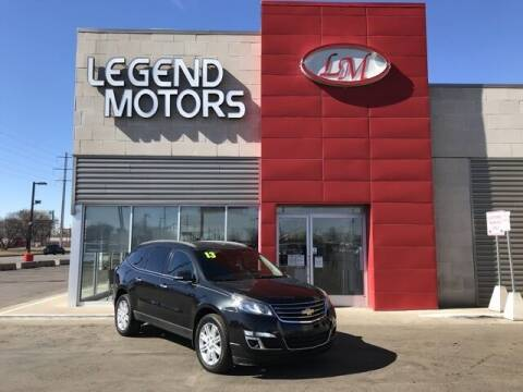 2013 Chevrolet Traverse for sale at Legend Motors of Waterford - Legend Motors of Ferndale in Ferndale MI