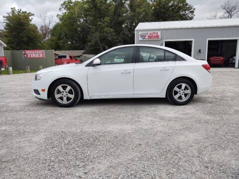 2013 Chevrolet Cruze for sale at Hilltop Auto in Prescott MI