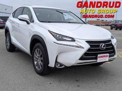 2016 Lexus NX 200t for sale at Gandrud Dodge in Green Bay WI