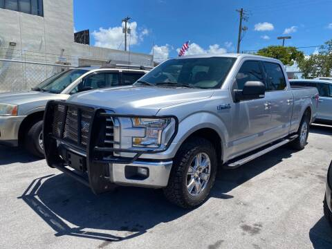 2015 Ford F-150 for sale at MANA AUTO SALES in Miami FL