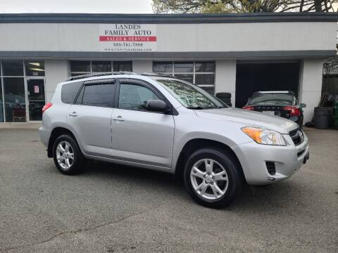 2011 Toyota RAV4 for sale at Landes Family Auto Sales in Attleboro MA