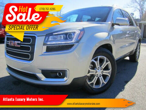 2014 GMC Acadia for sale at Atlanta Luxury Motors Inc. in Buford GA