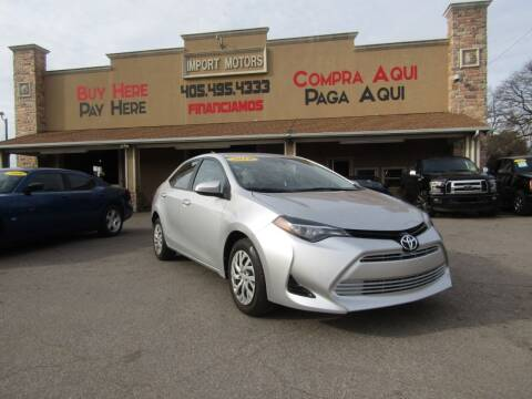 2019 Toyota Corolla for sale at Import Motors in Bethany OK