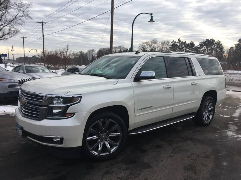 2015 Chevrolet Suburban for sale at Premier Motors LLC in Crystal MN