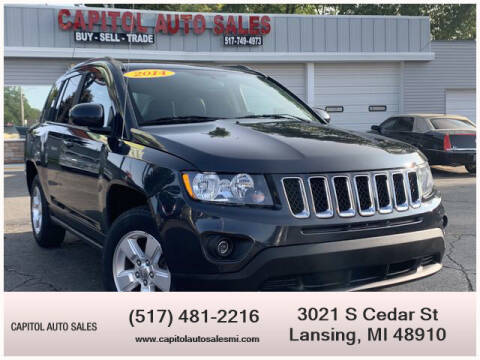 2014 Jeep Compass for sale at Capitol Auto Sales in Lansing MI