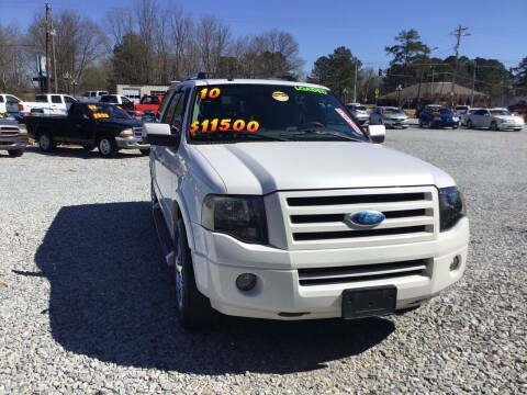 2010 Ford Expedition for sale at K & E Auto Sales in Ardmore AL