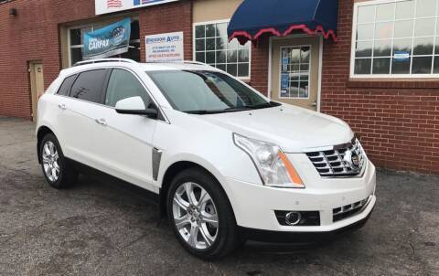 2013 Cadillac SRX for sale at FREEDOM AUTO LLC in Wilkesboro NC
