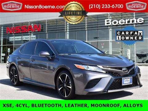 2020 Toyota Camry for sale at Nissan of Boerne in Boerne TX