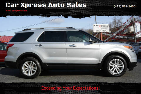2012 Ford Explorer for sale at Car Xpress Auto Sales in Pittsburgh PA