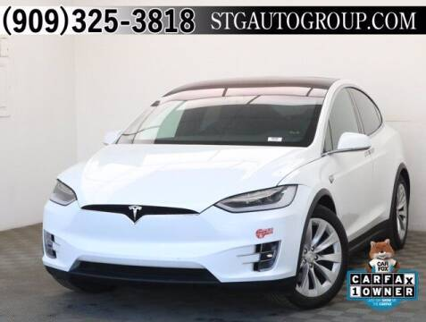 2018 Tesla Model X for sale at STG Auto Group in Montclair CA