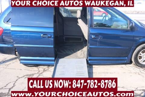 2002 Dodge Grand Caravan for sale at Your Choice Autos - Waukegan in Waukegan IL