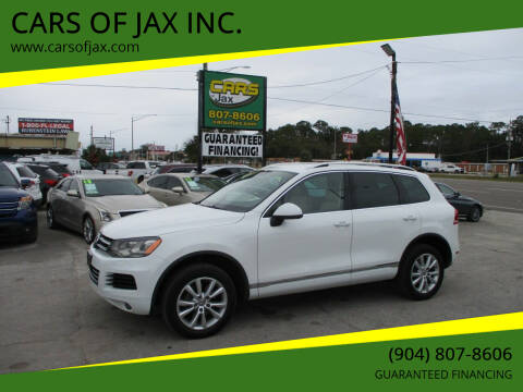 2014 Volkswagen Touareg for sale at CARS OF JAX INC. in Jacksonville FL