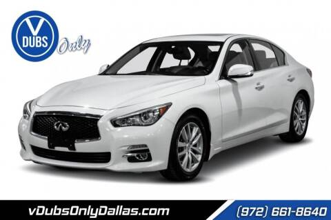 2015 Infiniti Q50 for sale at VDUBS ONLY in Dallas TX