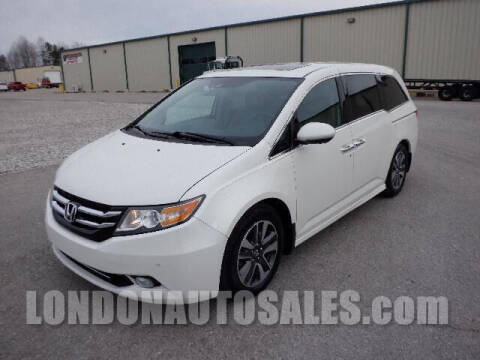 2015 Honda Odyssey for sale at London Auto Sales LLC in London KY
