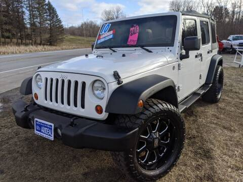 2010 Jeep Wrangler Unlimited for sale at GREAT DEALS ON WHEELS in Michigan City IN