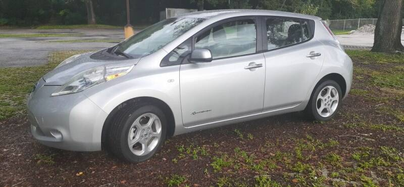 2011 Nissan LEAF for sale at Royal Auto Mart in Tampa FL