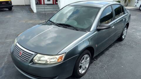 2005 Saturn Ion for sale at AFFORDABLE AUTO SALES in Saint Petersburg FL